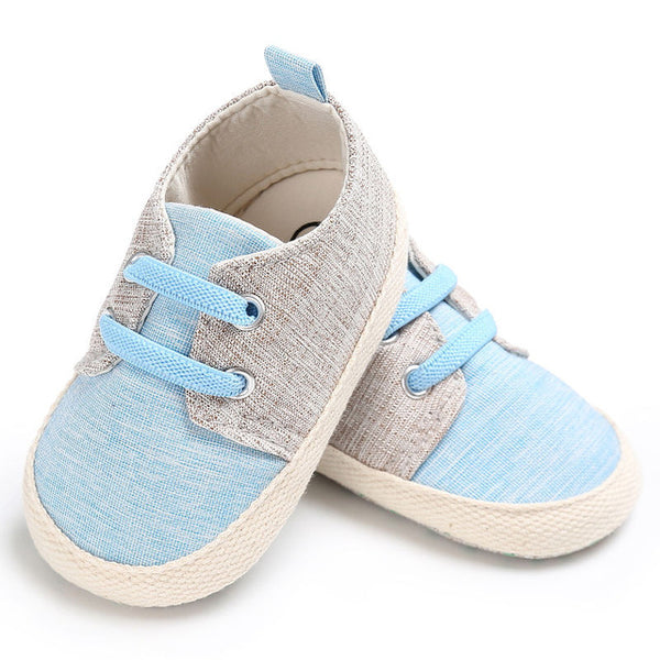 406fab680c65 WONBO Baby First Walkers Baby Shoes Fashion Patchwork Canvas Toddler S –  For The Littles Apparel