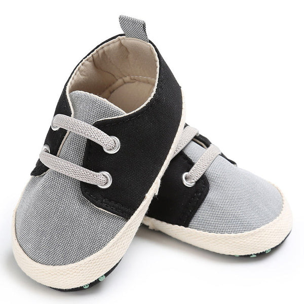 3967aaefc4b2 WONBO Baby First Walkers Baby Shoes Fashion Patchwork Canvas Toddler Shoe  for Babies