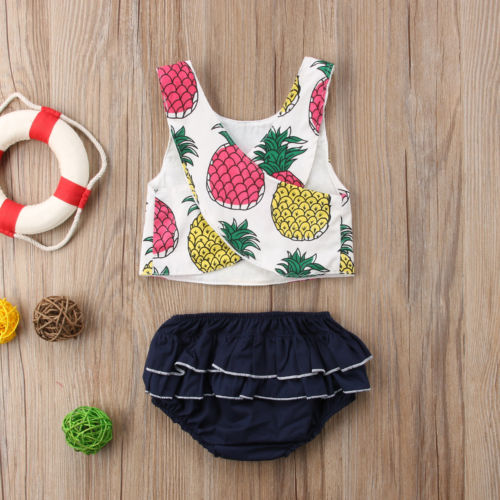 Pineapple Party Romper Set