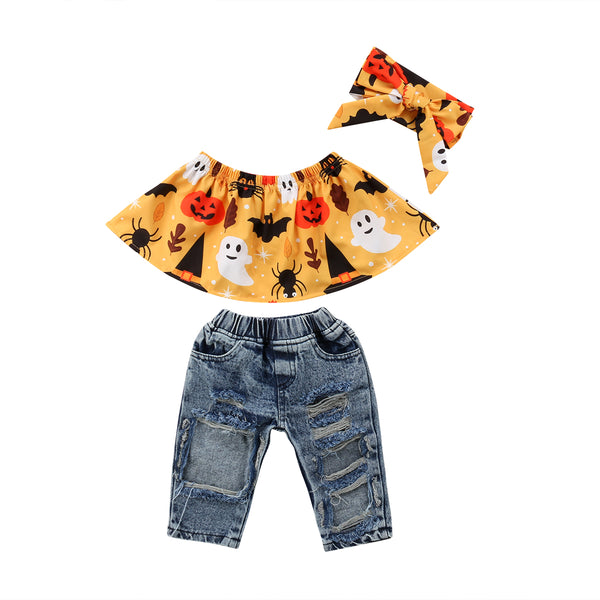 Boo Denim Set
