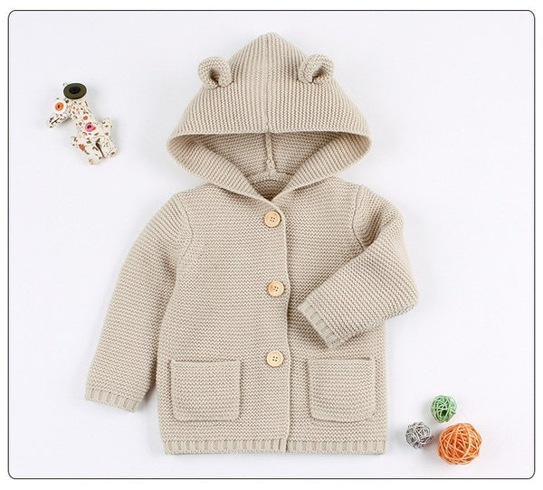 Cozy Cub Knitted Cardigan Jacket