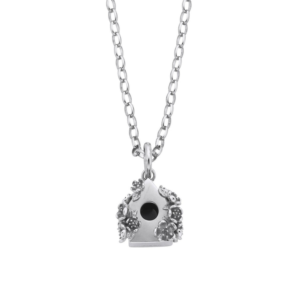 bird diamond and pave b necklace lotus products cathy