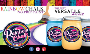 RAINBOW CHALK no prep PAINT