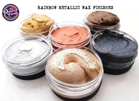 RAINBOW METALLIC WAX FINISHES