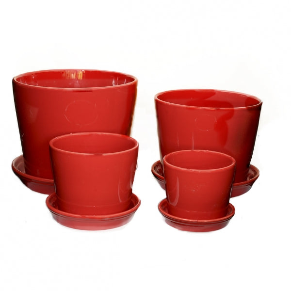 Straight Planter Red
