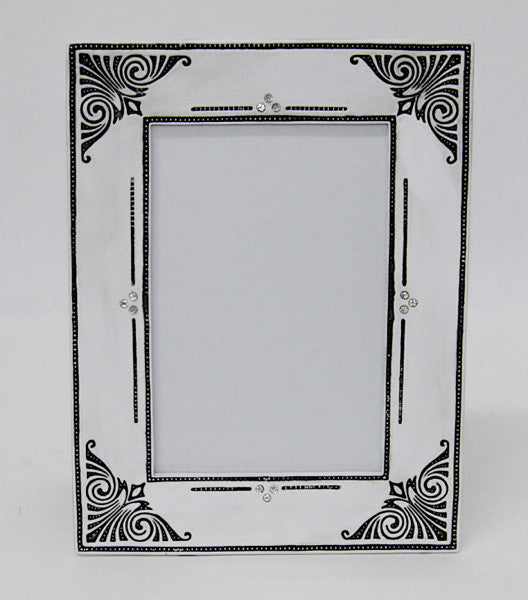 Photo Frame Shabby White 4×6