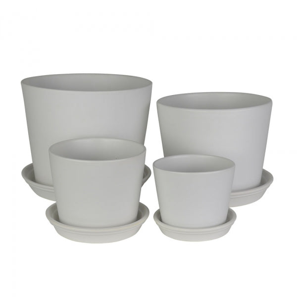 Straight Planters White
