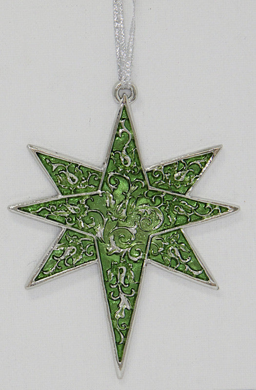 Christmas Decoration Star Green