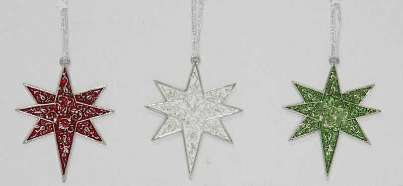 Christmas Decoration Star White