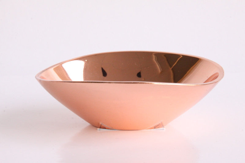 Tray Copper Candle