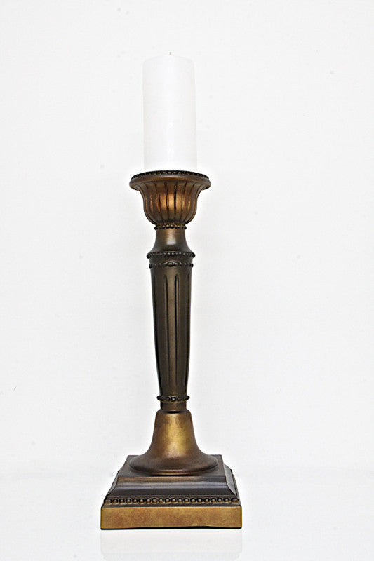 Candle Holder Brass look
