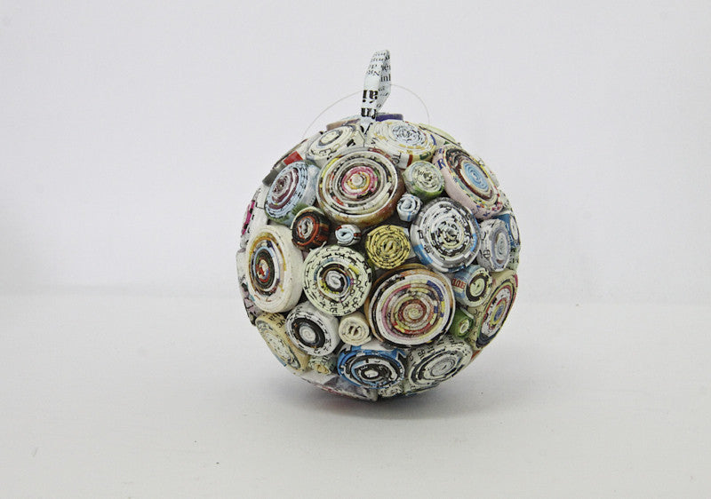Decoration Paper Hanging Ball  Multicolor Rounds