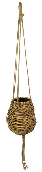 Rattan Bulb Hang Basket