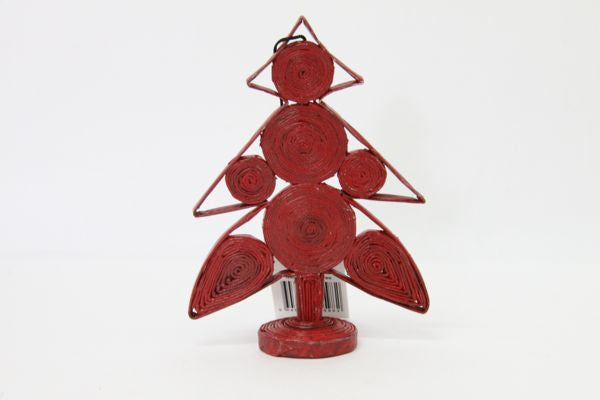 Christmas Decoration Paper Christmas Tree Red