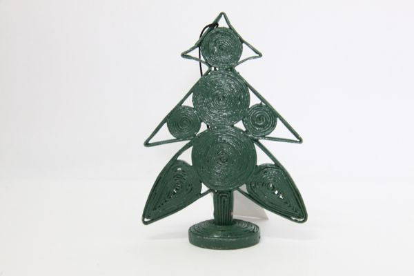 Christmas Decoration Paper Christmas Tree Green