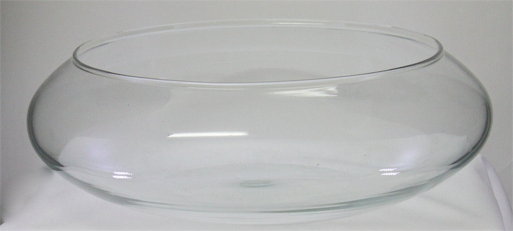 Glass Vase Oval