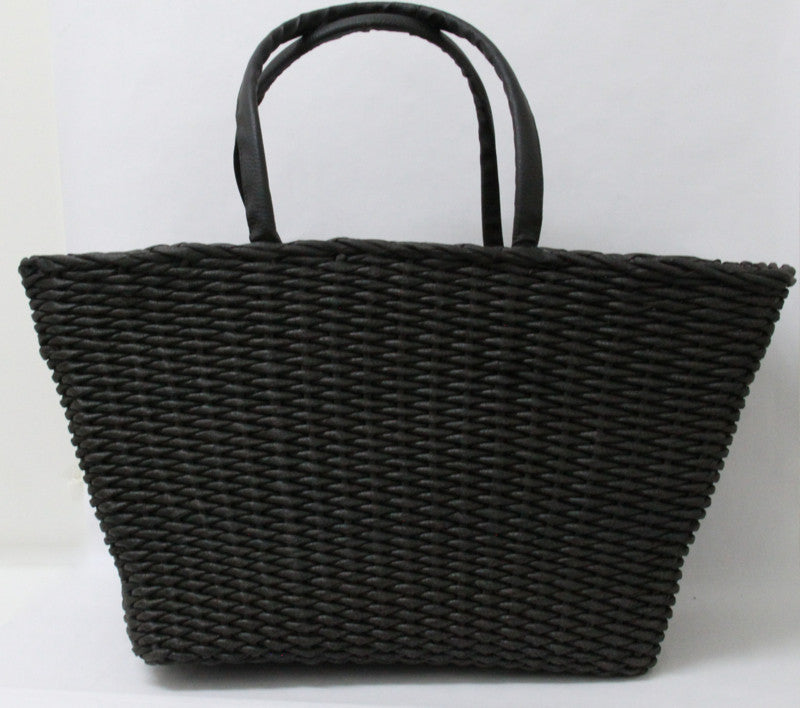 Best Beach Basket – Big Square Black