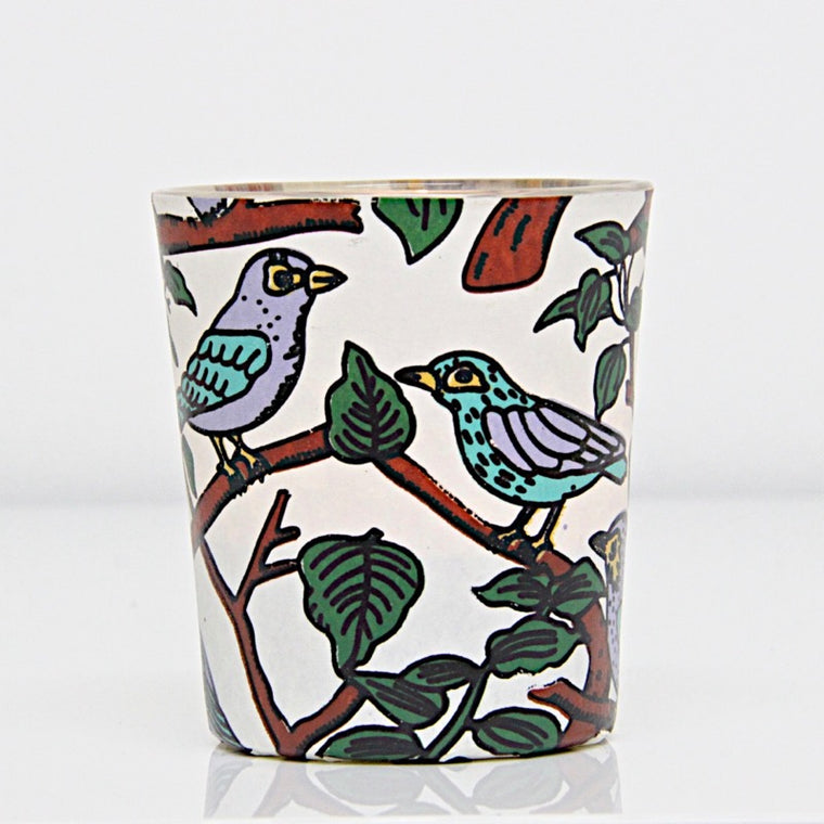 Tealight  Birds on Branches