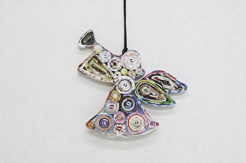 Christmas Decoration Paper Hanging Angel