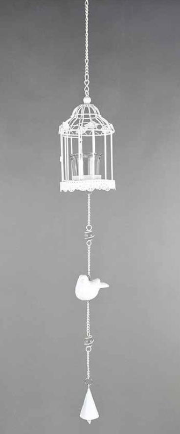 Metal Bird Cage Mobile