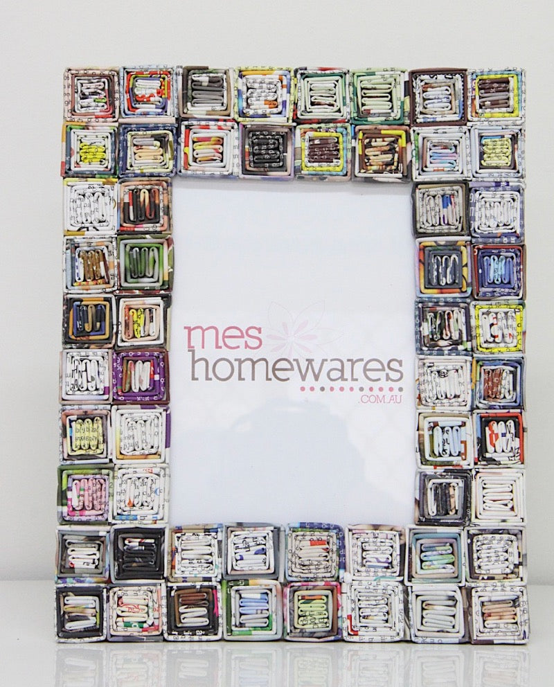 Photo Frame Many Squares