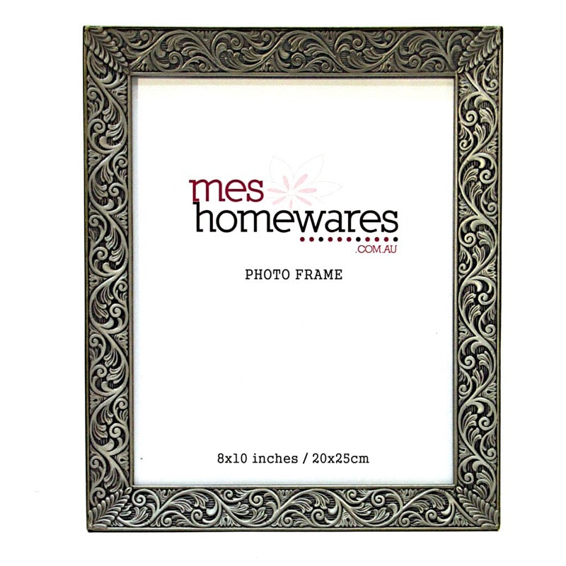 Photo Frame Brushed Silver
