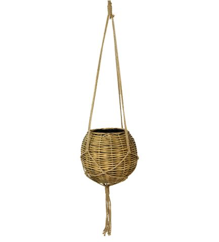 Rattan Ball Hang Basket