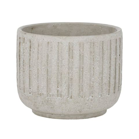 Keller Cement Pot Grey