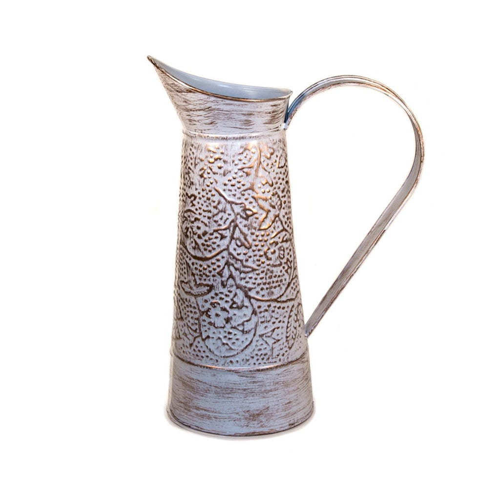 Garden Jug Antique White