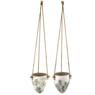 Fran Ceramic Hanging Pot