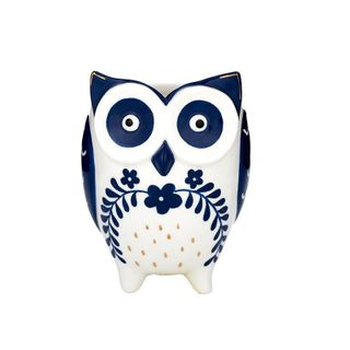 Olga Owl  Ceramic Pot