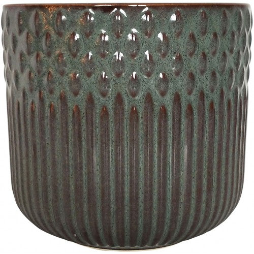 Tuscan Planter Blue Rust