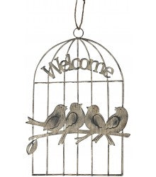 Welcome Bird Cage