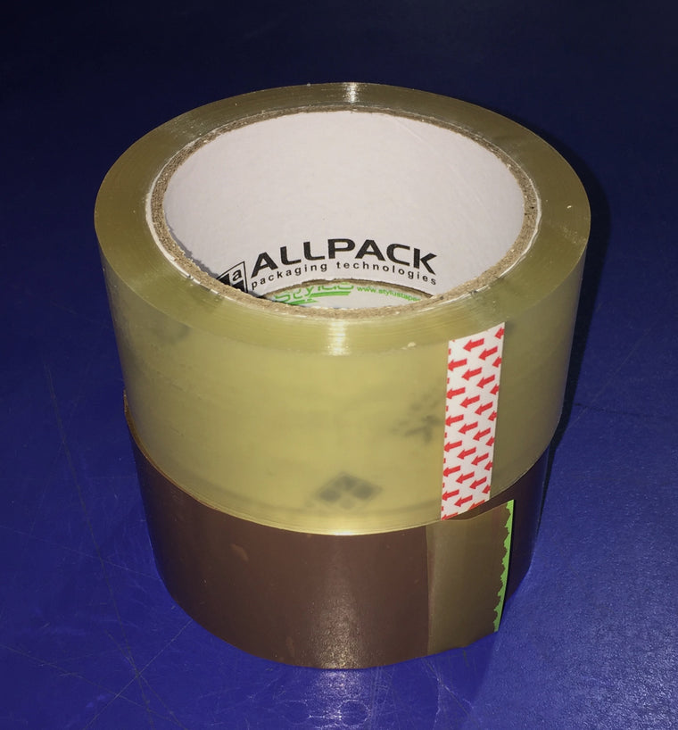 Packaging Tape - 48mm Wide x 75m Long - Packaging Consumables - Allpack - Packaging - Technologies