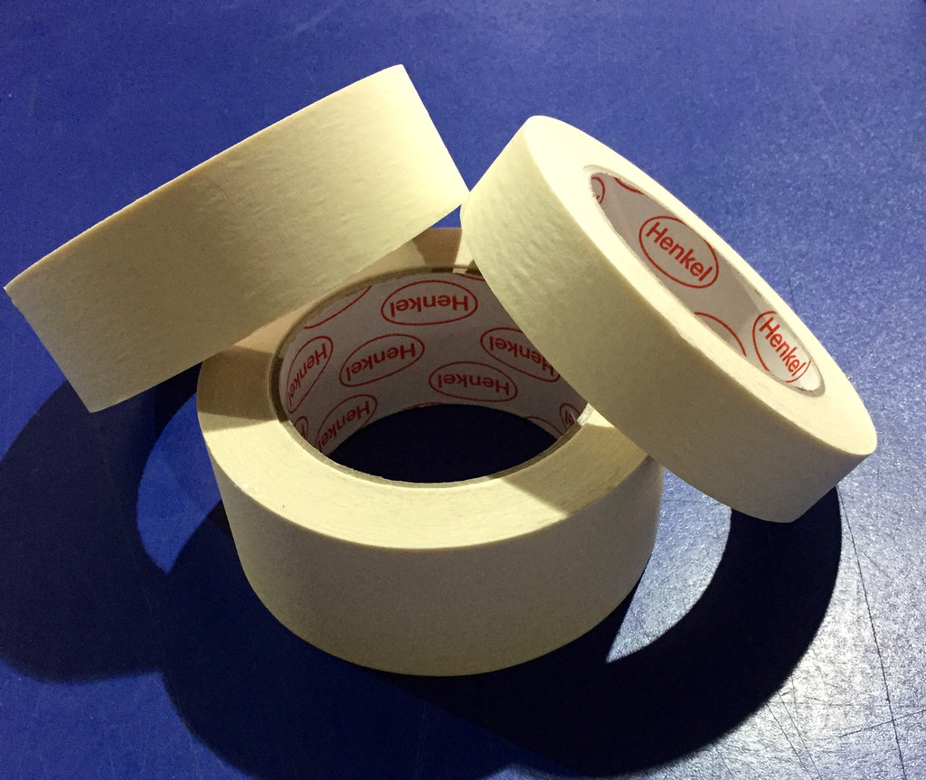 Masking Tape - Widths 24mm/36mm/48mm x 50m Long - Packaging Consumables - Allpack - Packaging - Technologies
