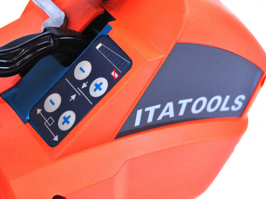 Itatools ITA-21 PET Battery Powered Strapping Tool - Packaging Machines - Allpack - Packaging - Technologies
