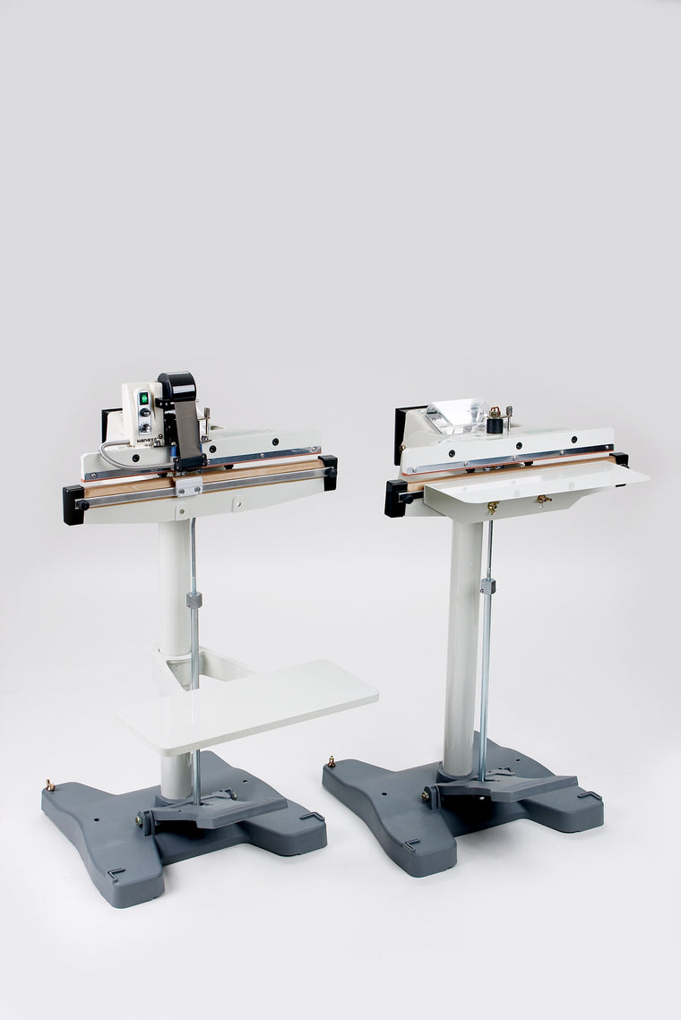 Foot Sealer - HANATO NI Series - Double Impulse - Packaging Machines - Allpack - Packaging - Technologies