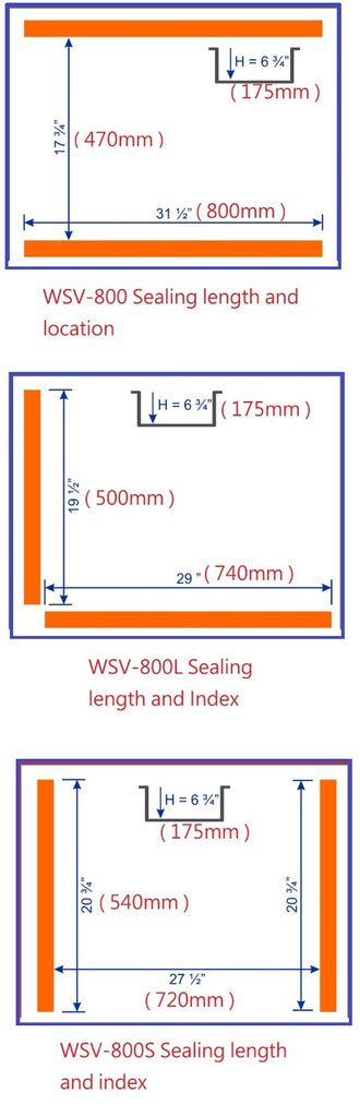 WELL SHENG - Model WSV-800/WSV-800L/WSV-800S Floor type
