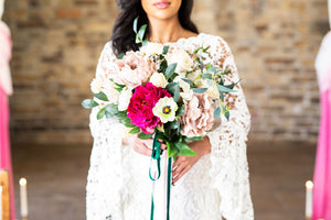 VIBRANT WEDDING INSPIRATION- A hidden gem, Blossom Barn, Homlfirth