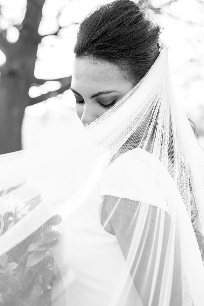veil black and white bride natasha cadman