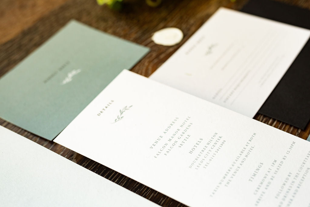 wedding stationery yorkshire