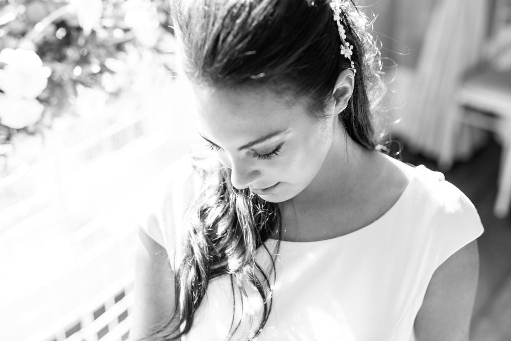 black and white photography natasha cadman bobby pin