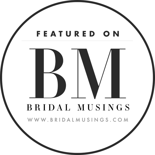 bridal musings blog featured famous international wedding