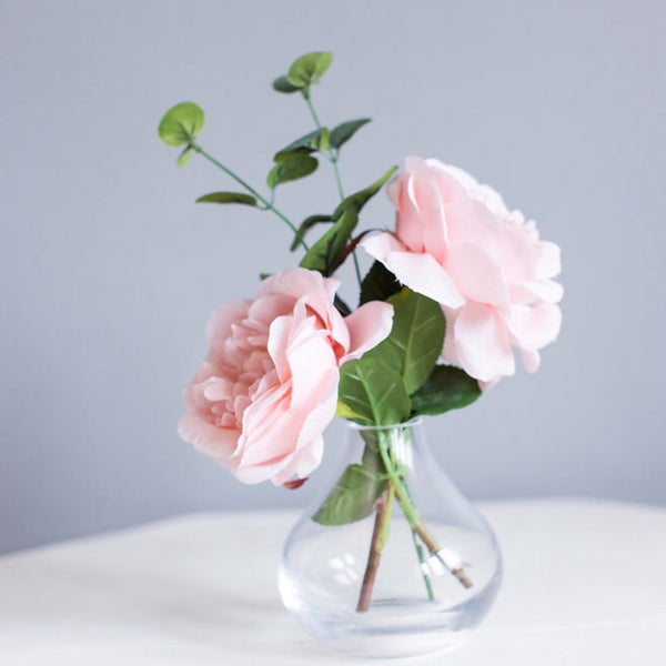 pale pink rose gift for her