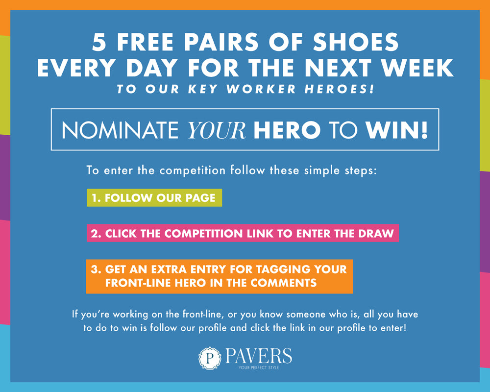 Nominate Your Key-Worker Hero to WIN!