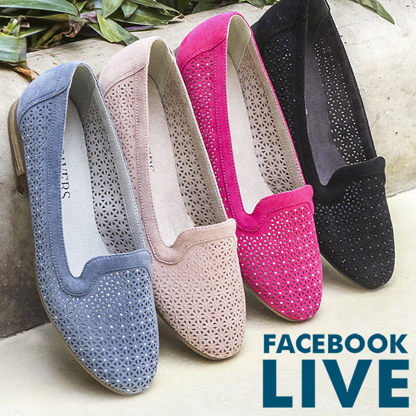 70d200ada67 Facebook Live Spring 2019 from Pavers Shoes – Your Perfect Style