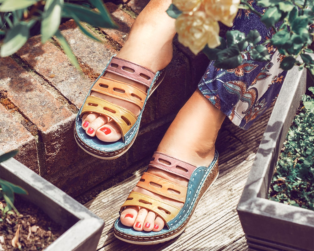 The Best Wide Fit Sandals | Pavers Shoes