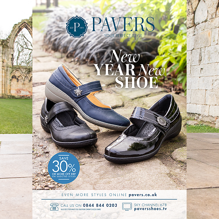 New Year, New Catalogue | Pavers Shoes