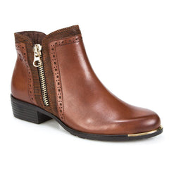 Zip Fasten Ankle Boots