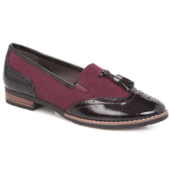 Patent Leather Brogue Loafer